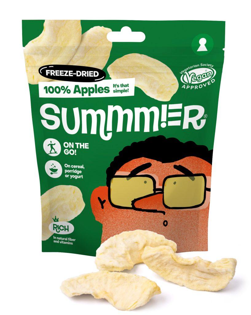 Summmer freeze-dried apples