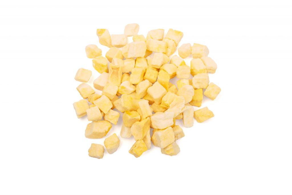 Freeze-dried mangos