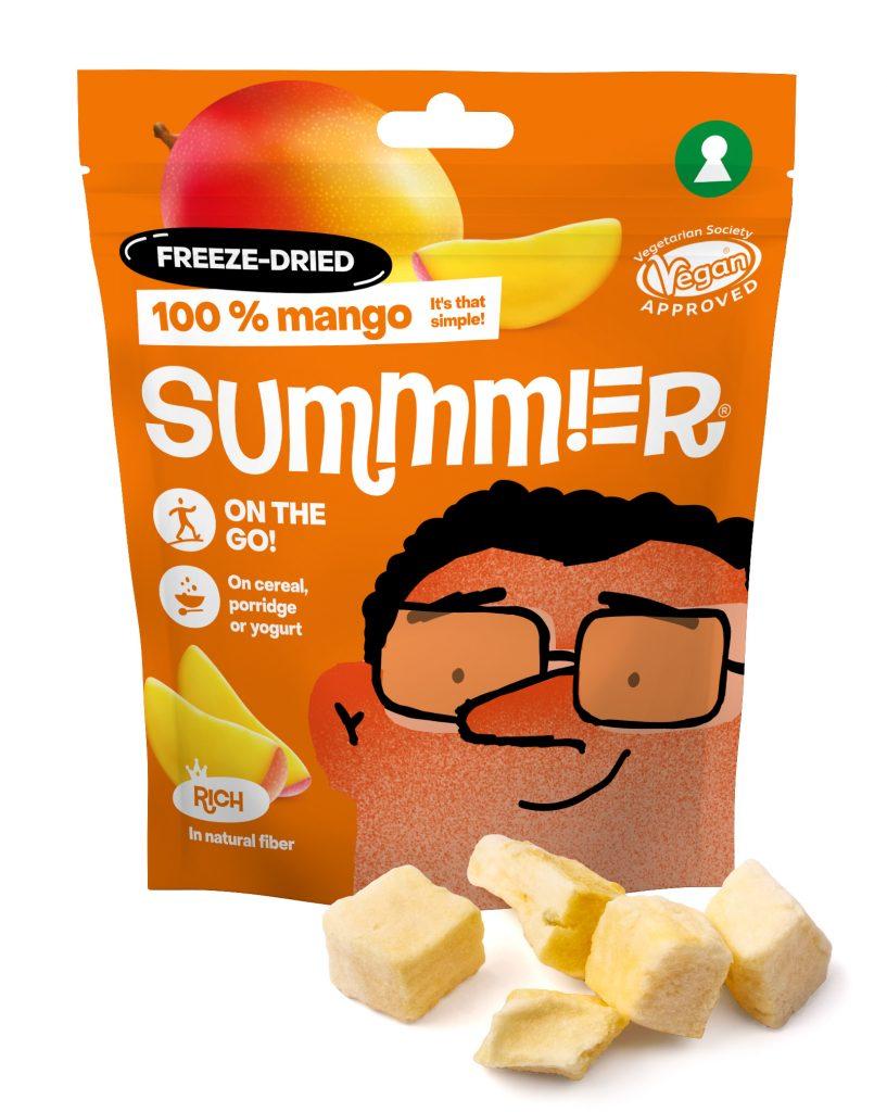 Summmer freeze-dried mangos