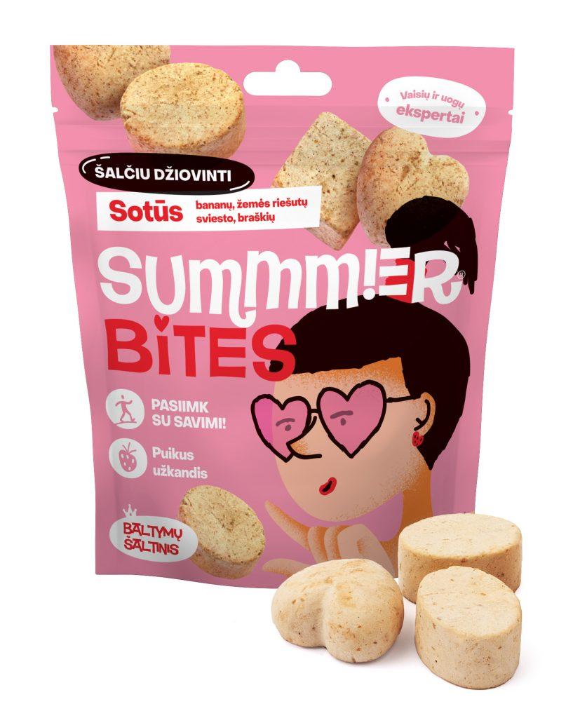 Summmer freeze-dried bites